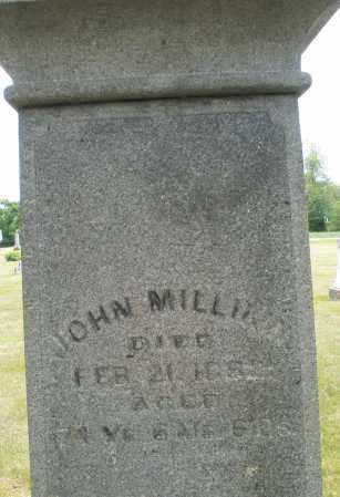 MILLIKIN, JOHN - Madison County, Ohio   JOHN MILLIKIN - Ohio Gravestone Photos