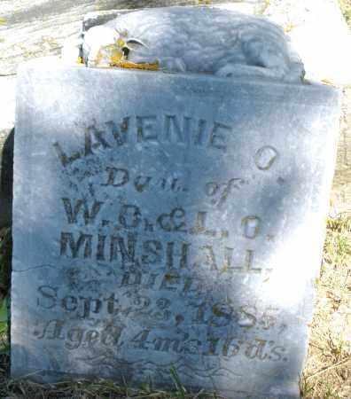 MINSHALL, LAVENIE O. - Madison County, Ohio | LAVENIE O. MINSHALL - Ohio Gravestone Photos