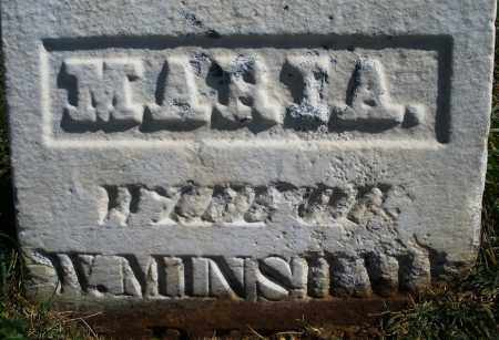 MINSHALL, MARIA - Madison County, Ohio   MARIA MINSHALL - Ohio Gravestone Photos