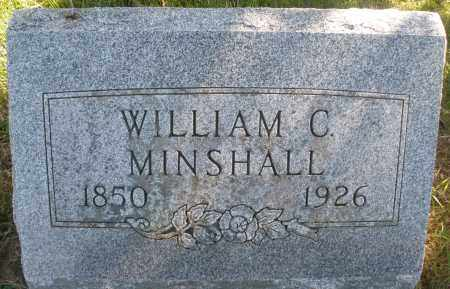 MINSHALL, WILLIAM C. - Madison County, Ohio   WILLIAM C. MINSHALL - Ohio Gravestone Photos