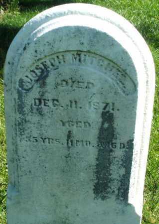 MITCHEL, JOSEPH - Madison County, Ohio   JOSEPH MITCHEL - Ohio Gravestone Photos