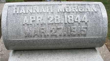MORGAN, HANNAH - Madison County, Ohio   HANNAH MORGAN - Ohio Gravestone Photos