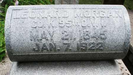 MORGAN, LEONARD - Madison County, Ohio   LEONARD MORGAN - Ohio Gravestone Photos