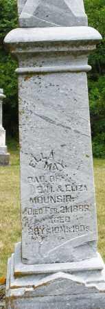 MOUNSIR, ELLA MAY - Madison County, Ohio   ELLA MAY MOUNSIR - Ohio Gravestone Photos