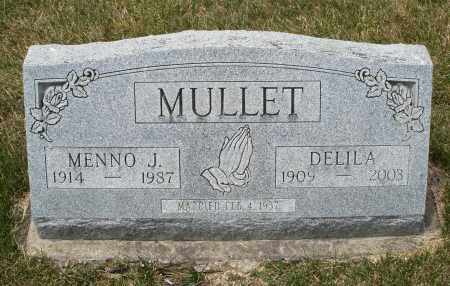 MULLET, MENNO J. - Madison County, Ohio   MENNO J. MULLET - Ohio Gravestone Photos