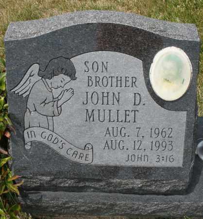 MULLETT, JOHN D. - Madison County, Ohio | JOHN D. MULLETT - Ohio Gravestone Photos