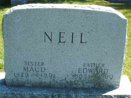 NEIL, EDWARD - Madison County, Ohio | EDWARD NEIL - Ohio Gravestone Photos
