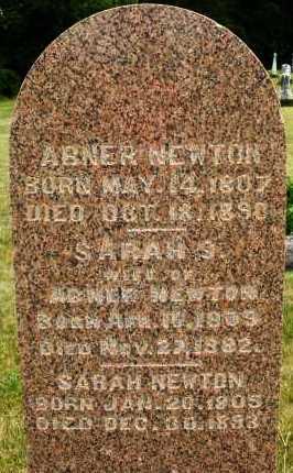 NEWTON, SARAH S. - Madison County, Ohio | SARAH S. NEWTON - Ohio Gravestone Photos