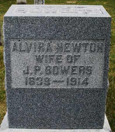 NEWTON, ALVIRA - Madison County, Ohio   ALVIRA NEWTON - Ohio Gravestone Photos