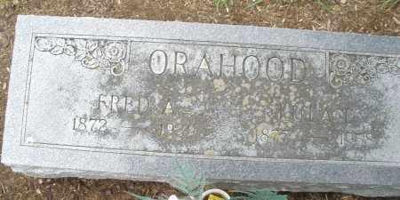ORAHOOD, FRED A. - Madison County, Ohio | FRED A. ORAHOOD - Ohio Gravestone Photos