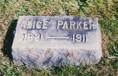 PARKER, ALICE O. - Madison County, Ohio | ALICE O. PARKER - Ohio Gravestone Photos