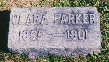 PARKER, CLARA - Madison County, Ohio | CLARA PARKER - Ohio Gravestone Photos