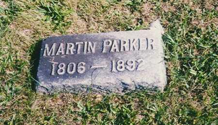 PARKER, MARTIN - Madison County, Ohio   MARTIN PARKER - Ohio Gravestone Photos
