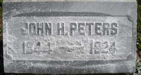 PETERS, JOHN H. - Madison County, Ohio | JOHN H. PETERS - Ohio Gravestone Photos