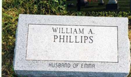 PHILLIPS, WILLIAM A. - Madison County, Ohio | WILLIAM A. PHILLIPS - Ohio Gravestone Photos