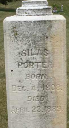 PORTOR, SILAS - Madison County, Ohio   SILAS PORTOR - Ohio Gravestone Photos