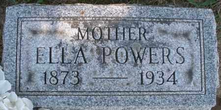 POWERS, ELLA - Madison County, Ohio   ELLA POWERS - Ohio Gravestone Photos