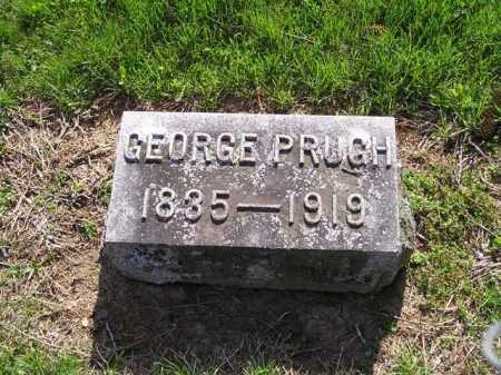 PRUGH, GEORGE COOPER - Madison County, Ohio   GEORGE COOPER PRUGH - Ohio Gravestone Photos