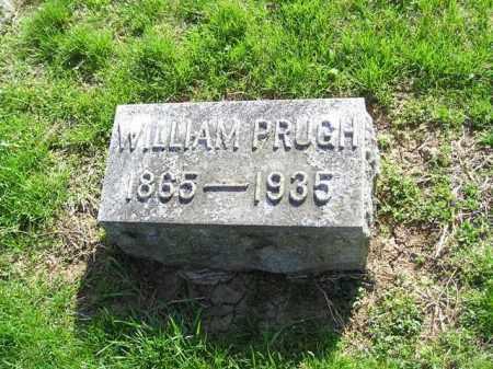 PRUGH, WILLIAM R. - Madison County, Ohio | WILLIAM R. PRUGH - Ohio Gravestone Photos