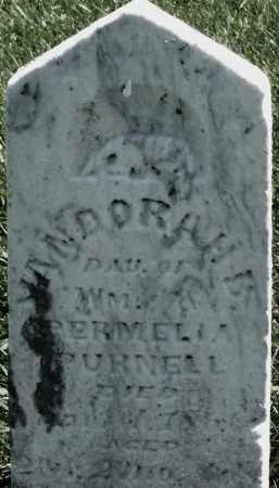 PURNELL, JANDORAH B. ? - Madison County, Ohio | JANDORAH B. ? PURNELL - Ohio Gravestone Photos