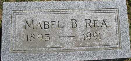 REA, MABEL B. - Madison County, Ohio | MABEL B. REA - Ohio Gravestone Photos