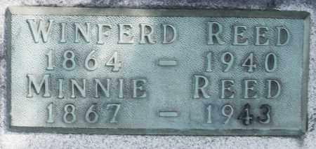 REED, WINFERD - Madison County, Ohio | WINFERD REED - Ohio Gravestone Photos