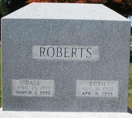ROBERTS, RUTH - Madison County, Ohio | RUTH ROBERTS - Ohio Gravestone Photos