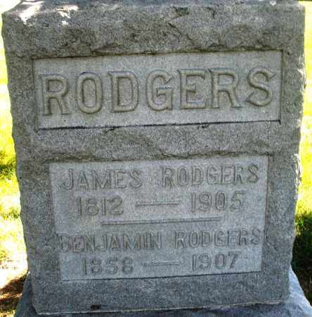 RODGERS, JAMES - Madison County, Ohio | JAMES RODGERS - Ohio Gravestone Photos