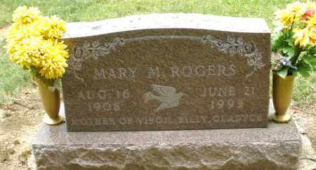 ROGERS, MARY M. - Madison County, Ohio | MARY M. ROGERS - Ohio Gravestone Photos