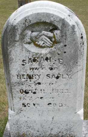 SAFLY, SARAH E. - Madison County, Ohio | SARAH E. SAFLY - Ohio Gravestone Photos