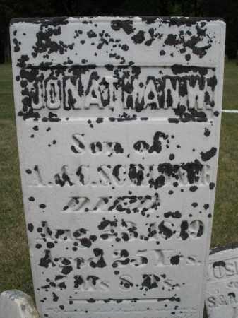 SCRIBNER, JONATHAN W. - Madison County, Ohio | JONATHAN W. SCRIBNER - Ohio Gravestone Photos
