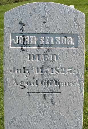 SELSOR, JOHN - Madison County, Ohio | JOHN SELSOR - Ohio Gravestone Photos