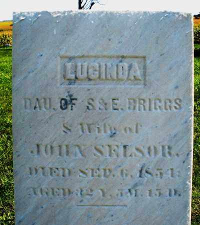 SELSOR, LUCINDA - Madison County, Ohio | LUCINDA SELSOR - Ohio Gravestone Photos