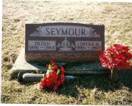 BOWER SEYMOUR, LORENA M. - Madison County, Ohio | LORENA M. BOWER SEYMOUR - Ohio Gravestone Photos