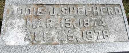 SHEPHERD, ADDIE J. - Madison County, Ohio | ADDIE J. SHEPHERD - Ohio Gravestone Photos