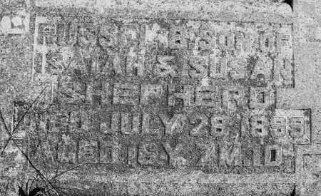 SHEPHERD, RUSSEL B. - Madison County, Ohio | RUSSEL B. SHEPHERD - Ohio Gravestone Photos