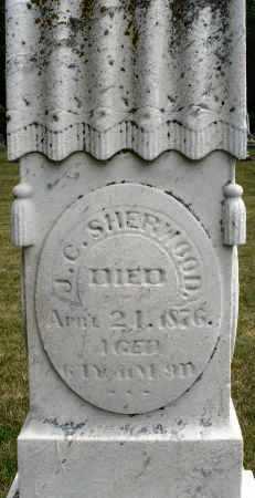 SHERWOOD, J. C. - Madison County, Ohio | J. C. SHERWOOD - Ohio Gravestone Photos