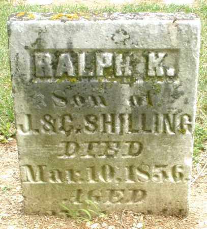 SHILLING, RALPH K. - Madison County, Ohio | RALPH K. SHILLING - Ohio Gravestone Photos