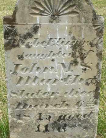 SLATER, PHEBE ELIZABETH - Madison County, Ohio   PHEBE ELIZABETH SLATER - Ohio Gravestone Photos