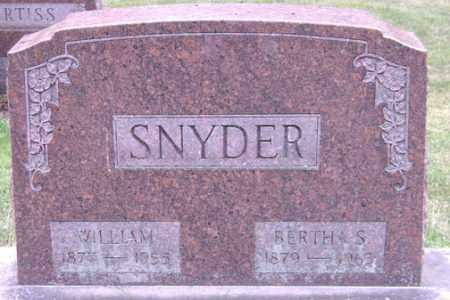SNYDER, BERTHA S. - Madison County, Ohio | BERTHA S. SNYDER - Ohio Gravestone Photos