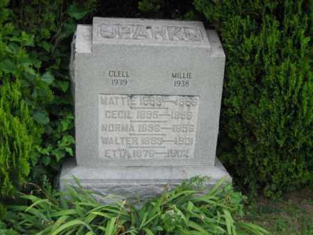 SPARKS, CECIL - Madison County, Ohio | CECIL SPARKS - Ohio Gravestone Photos
