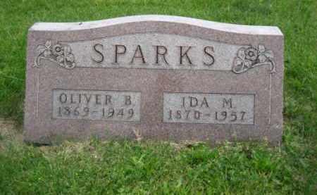 SPARKS, OLIVER B. - Madison County, Ohio | OLIVER B. SPARKS - Ohio Gravestone Photos