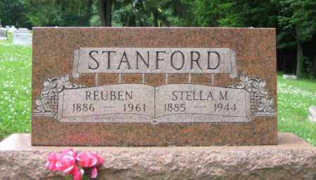 STANFORD, STELLA M. CARTER - Madison County, Ohio | STELLA M. CARTER STANFORD - Ohio Gravestone Photos