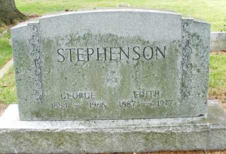 STEPHENSON, EDITH - Madison County, Ohio | EDITH STEPHENSON - Ohio Gravestone Photos