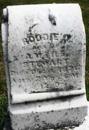 STEWART, RODDIE - Madison County, Ohio | RODDIE STEWART - Ohio Gravestone Photos