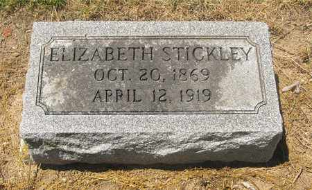 STICKLEY, ELIZABETH - Madison County, Ohio | ELIZABETH STICKLEY - Ohio Gravestone Photos