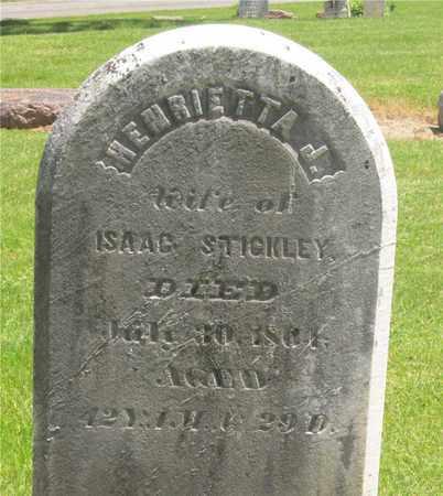 STICKLEY, HENRIETTA J. - Madison County, Ohio   HENRIETTA J. STICKLEY - Ohio Gravestone Photos