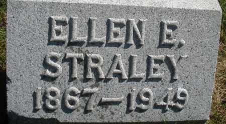 STRALEY, ELLEN E. - Madison County, Ohio | ELLEN E. STRALEY - Ohio Gravestone Photos