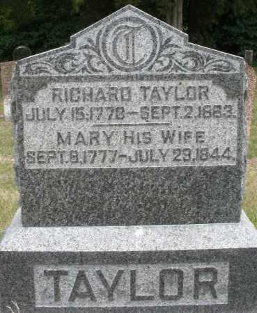 TAYLOR, RICHARD - Madison County, Ohio   RICHARD TAYLOR - Ohio Gravestone Photos