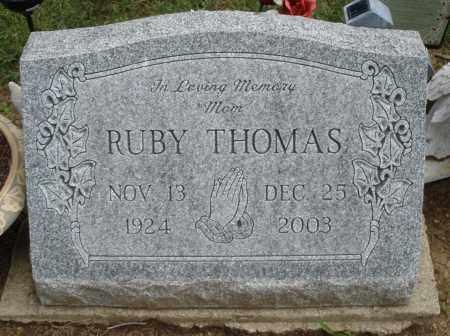 THOMAS, RUBY - Madison County, Ohio   RUBY THOMAS - Ohio Gravestone Photos